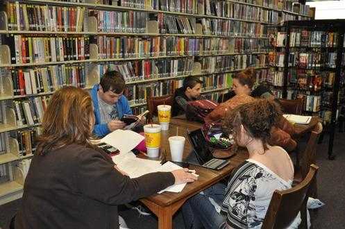 Some libraries in New York offer tutoring sessions after-school for the SAT/ACT