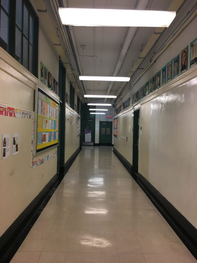 Photo obtained from iSchool hallway on the fourth floor during module when students were in class.