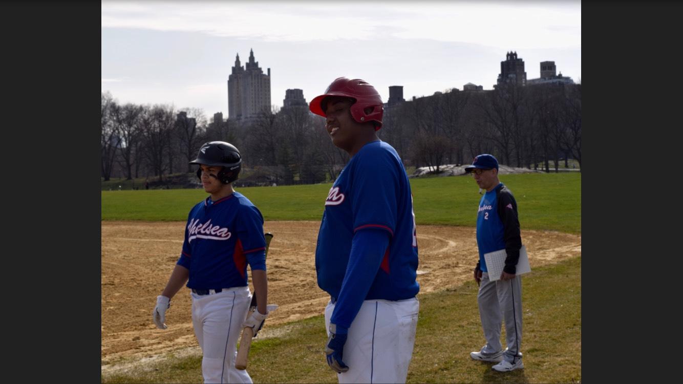 Junior+Robert+Rodriguez%2C+Captain+Christian+Wilson%2C+and+Coach+Joe+Munoz+at+a+game.