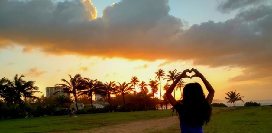 Our hearts go out to you. El Escambron, San Juan, P.R.