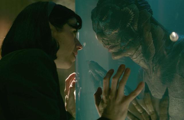 Elisa communicates with the captive sea creature.