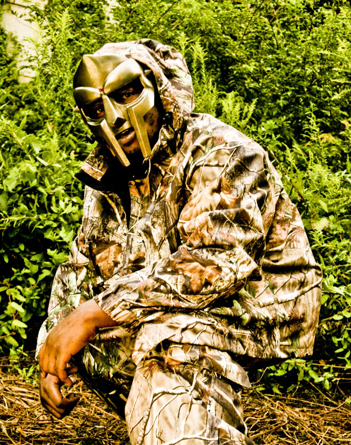 The masked rapper, MF Doom