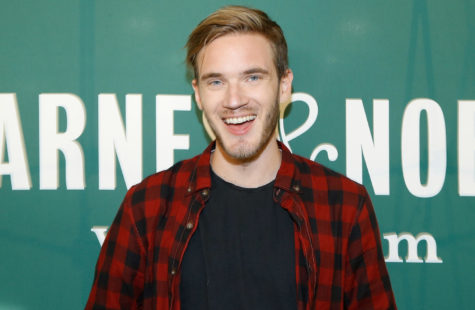 NEW YORK, NY - OCTOBER 29:  PewDiePie signs copies of his new book