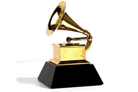 The gramophone, which is presented to an artist after winning a Grammy award.