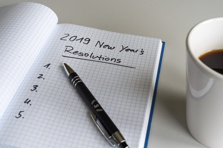 One of the most common New Year's resolutions is to lose weight.