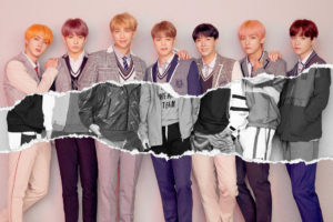 BTS: the 7 members