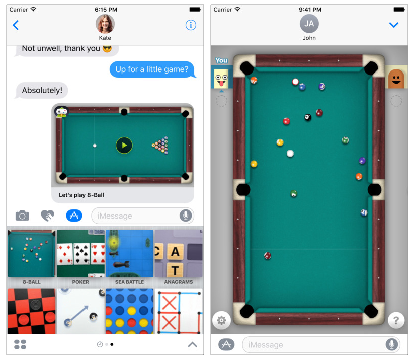 People+use+iMessage+games+as+a+way+to+have+fun+with+their+friends%2C+instead+of+seeing+them+in+person.