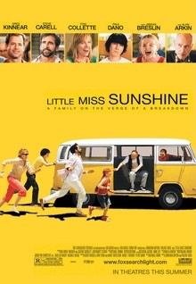 As seen, this is the movie, Little Miss Sunshine, which was released in 2006. The characters in this movie are the majority, white and there are little to no representation of people of color in the movie.