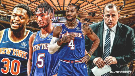 Today's Knicks find success in young talent and bench depth